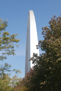 The Gateway Arch in St. Louis, MO.