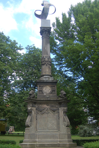 Random monument in Osnabrück, Germany.